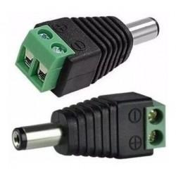 Conector Macho Plug 2.1mm...