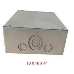 Caja De Paso 10x10x4. C10104